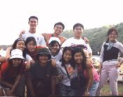 Group photo at Pantai Baron