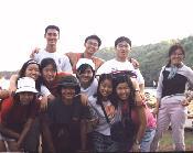 Group photo at Pantai Baron