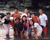 Another group photo at Pantai Baron