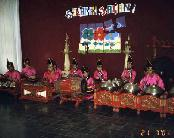 Our gamelan performance