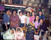 Shopping for Kerbaya at the famous Pasar Beringharjo
